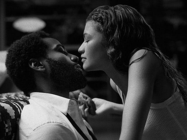 John David Washington and Zendaya in Malcolm and Marie