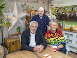 Matt Lucas, Prue Leith and Paul Hollywood on The Great Celebrity Bake Off for Stand Up To Cancer 2021