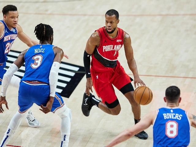 NBA roundup: Damian Lillard stars as Blazers overcome Knicks