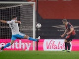 Jack Wilshere scores for Bournemouth against Crawley Town in the FA Cup on January 26, 2021