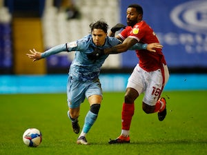 Nottingham Forest win at Coventry thanks to Michael Rose own goal