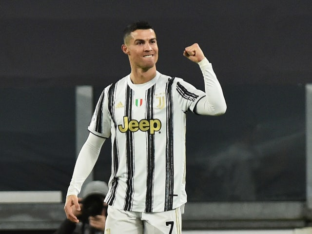 Cristiano Ronaldo pictured in February 2021