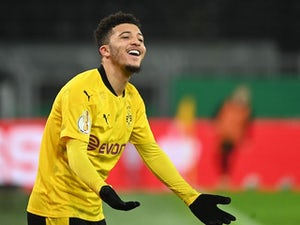 Borussia Dortmund without Jadon Sancho for Man City clash