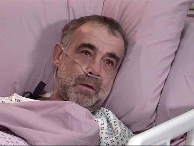 Kevin on the second episode of Coronation Street on February 17, 2021