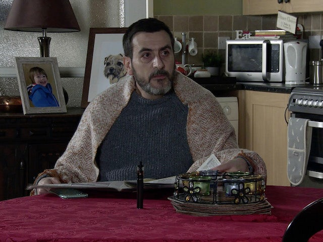 Peter on Coronation Street on February 19, 2021