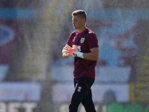 Burnley goalkeeper Lukas Jensen joins Bolton on loan