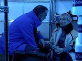 Kevin and Debbie stuck in the freezer on Coronation Street on February 12, 2021