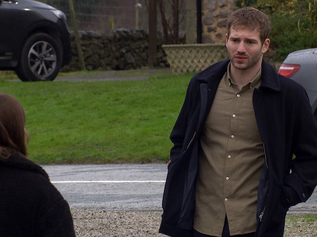 Jamie on the first episode of Emmerdale on February 18, 2021