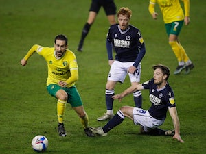 Jed Wallace misses open goal as Norwich and Millwall share the spoils