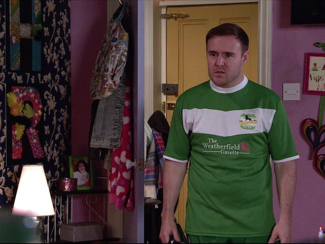 Tyrone on the second episode of Coronation Street on February 17, 2021