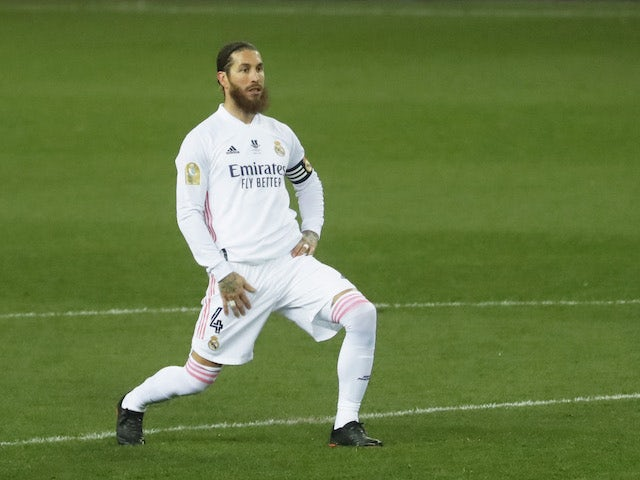 Real Madrid's Sergio Ramos 'in line to return for second leg against Chelsea'