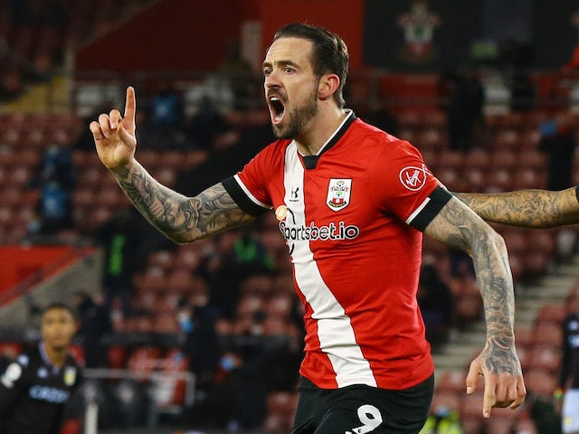Danny Ings in action for Southampton on January 30, 2021