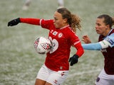 Ebony Salmon in action for Bristol City in February 2021