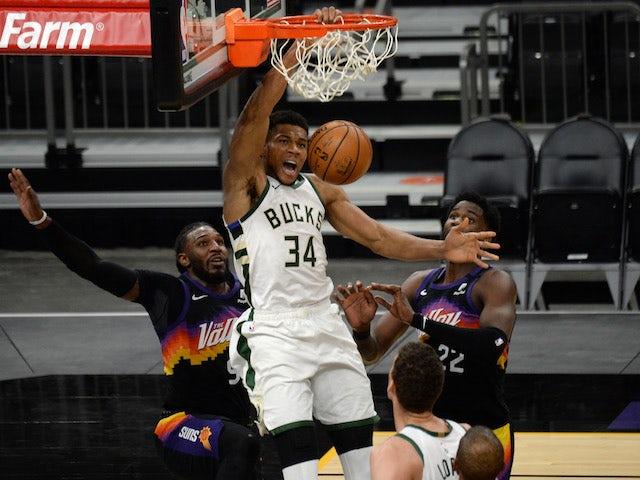 NBA roundup: Antetokounmpo lands triple-double as Milwaukee Bucks complete clean sweep