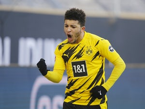 Jadon Sancho returns to Dortmund training