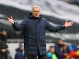 Tottenham Hotspur manager Jose Mourinho pictured on February 7, 2021