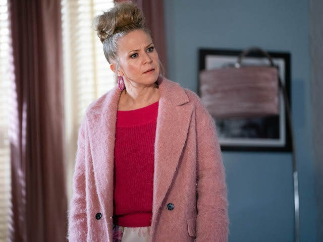 Linda on EastEnders on February 19, 2021