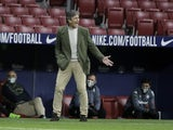 Real Betis manager Manuel Pellegrini pictured in October 2020