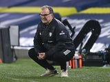 Leeds United manager Marcelo Bielsa pictured in February 2021