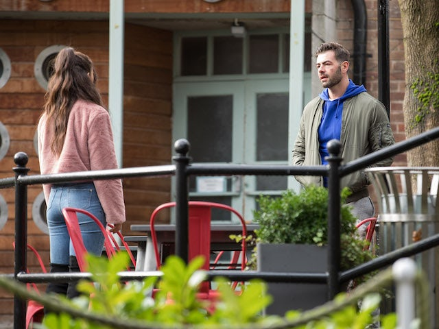 Cher and Sylver on Hollyoaks on February 19, 2021