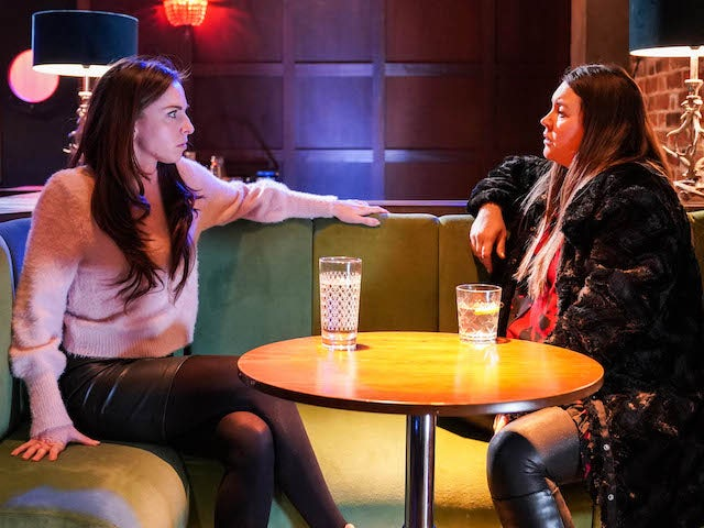 Ruby and Stacey on EastEnders on February 19, 2021