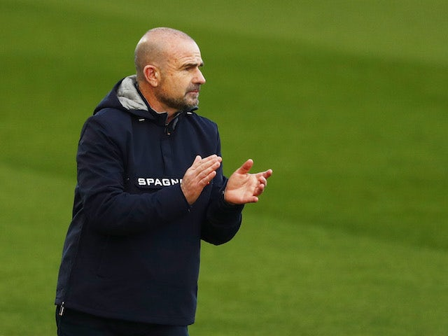 Levante head coach Paco Lopez pictured in January 2021
