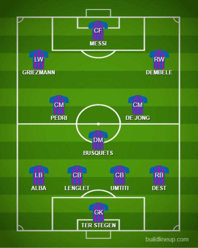 POSS BAR XI vs. PSG