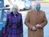 Prince Charles and Camilla pictured on December 17, 2020