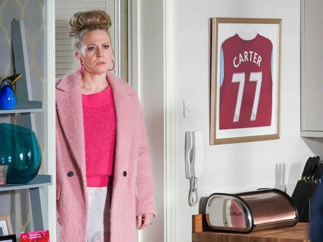 Linda on EastEnders on February 18, 2021