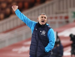 Blackburn Rovers manager Tony Mowbray pictured in January 2021