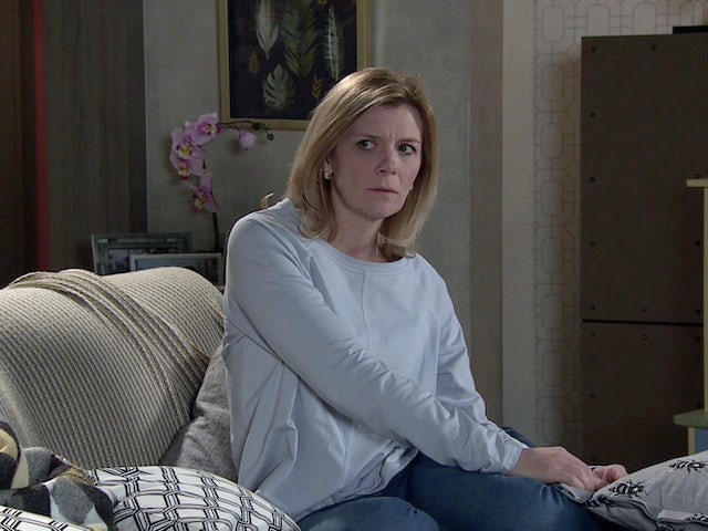 Leanne on the second episode of Coronation Street on March 3, 2021