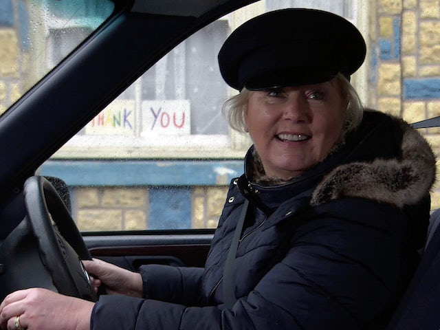 Eileen on the first episode of Coronation Street on February 24, 2021
