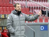 Mainz 05 coach Bo Svensson pictured in February 2021
