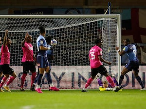 Derby snatch victory over Wycombe at the death