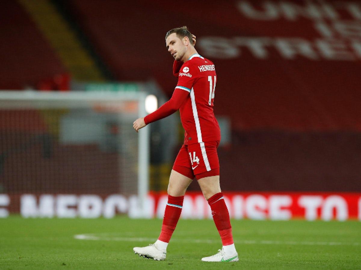 Liverpool team news: Injury, suspension list vs. Sheffield United - Sports Mole