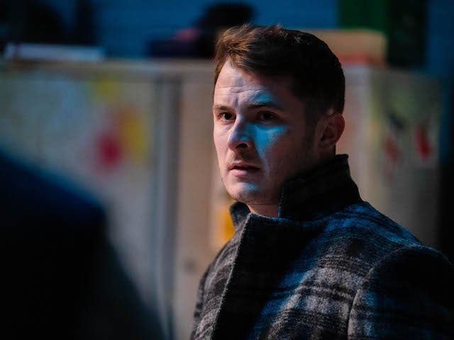 Ben on EastEnders on March 1, 2021