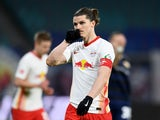 Marcel Sabitzer in action for RB Leipzig on January 20, 2021