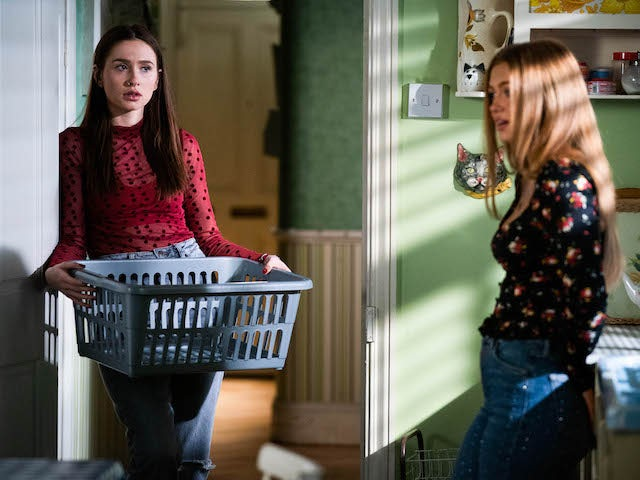 Dotty and Tiff on EastEnders on March 4, 2021
