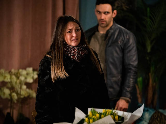 Stacey on EastEnders on March 2, 2021