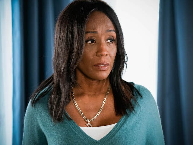 Denise on EastEnders on March 5, 2021