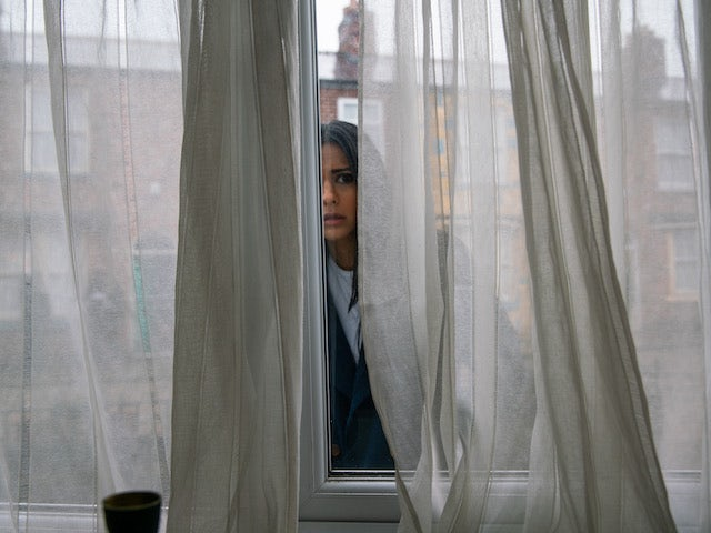 Alya on the second episode of Coronation Street on March 3, 2021