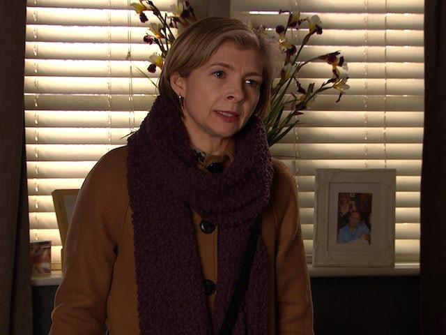 Juliette on Emmerdale on February 23, 2021