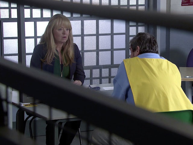 Jenny on the second episode of Coronation Street on March 1, 2021