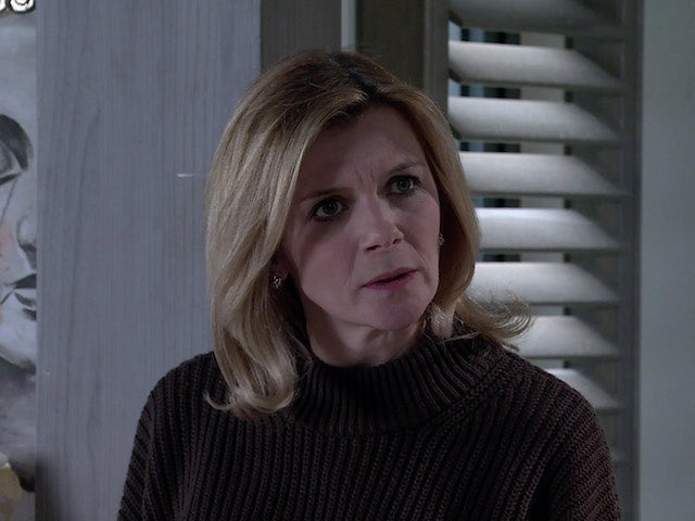 Leanne on the first episode of Coronation Street on March 1, 2021