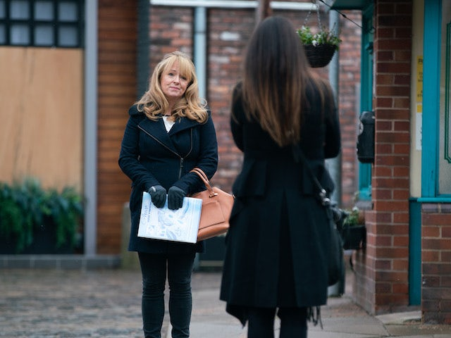 Jenny on the second episode of Coronation Street on February 22, 2021