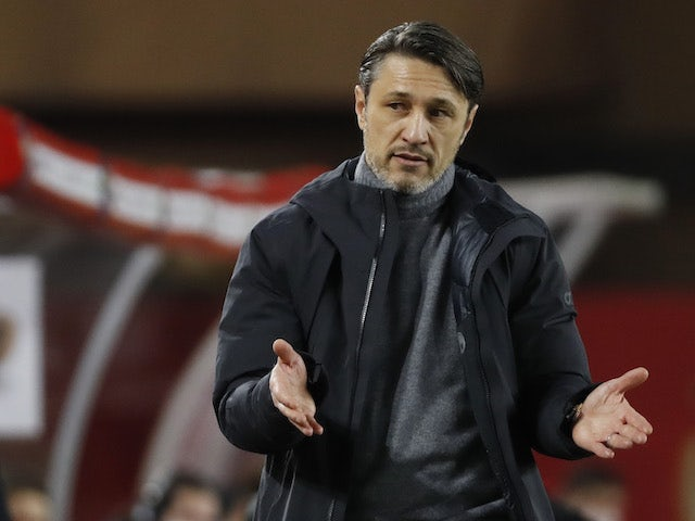 Monaco manager Niko Kovac pictured in February 2021