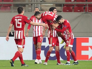 How Olympiacos could line up against Arsenal