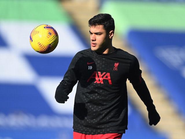Le défenseur de Liverpool Ozan Kabak photographié le 13 février 2021