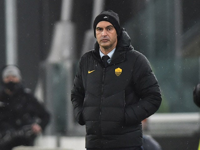 Roma manager Paulo Fonseca pictured in February 2021