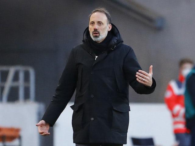 Stuttgart manager Pellegrino Matarazzo pictured in February 2021